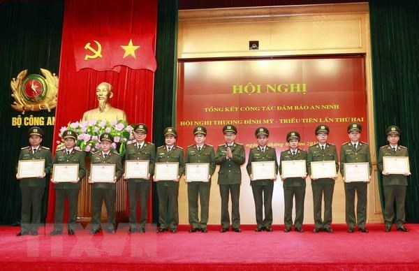 Security collectives, individuals lauded for contributions to DPRK-USA summit hinh anh 1