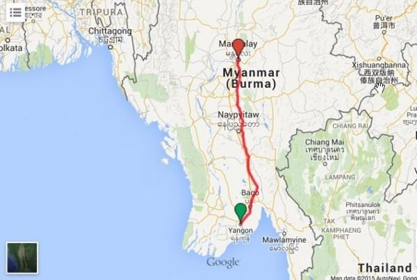 Myanmar: express bus overturn kills eight, injures 25 hinh anh 1