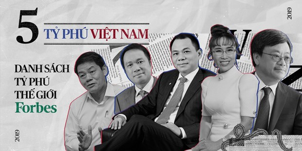 Five Vietnamese among world's richest: Forbes rankings hinh anh 1