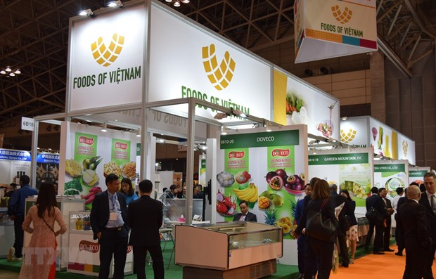 Vietnam attends int'l food, beverage exhibition in Japan hinh anh 1