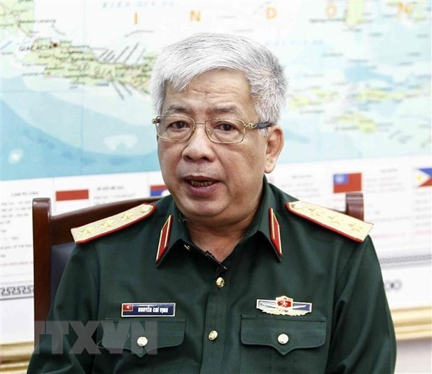 Deputy Defence Minister receives director of USAID Vietnam hinh anh 1