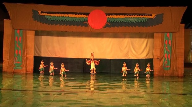 Egyptian artists to perform water puppetry in Hanoi hinh anh 1