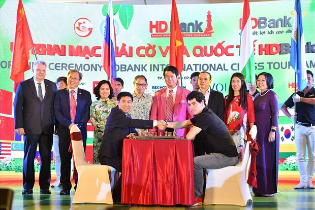 HDBankCup Int'l Chess Tournament opens in HCM City hinh anh 1