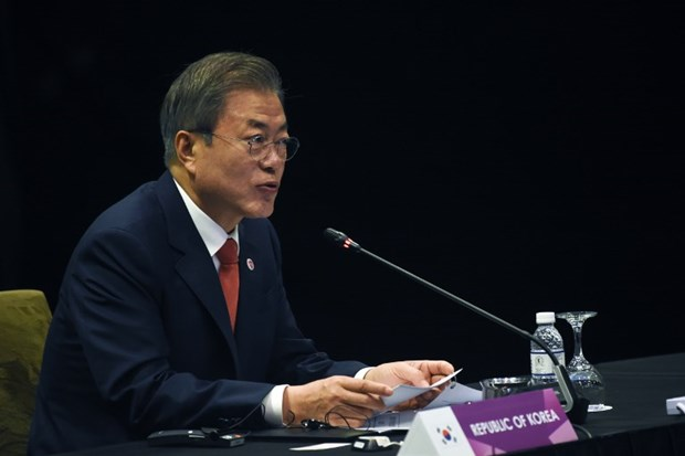 Korean President affirms role of cooperation with ASEAN hinh anh 1