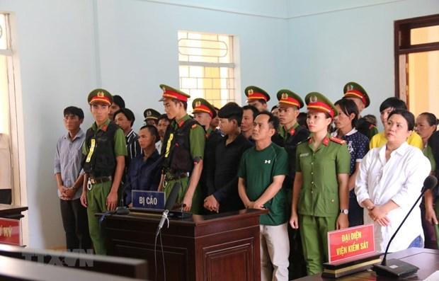 Binh Thuan: 15 sentenced for social disturbance hinh anh 1