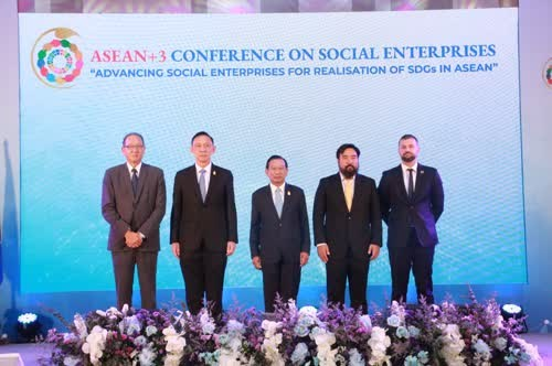 Thailand holds ASEAN+3 Conference on Social Enterprises hinh anh 1