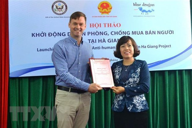 Human trafficking prevention project launched in Ha Giang hinh anh 1