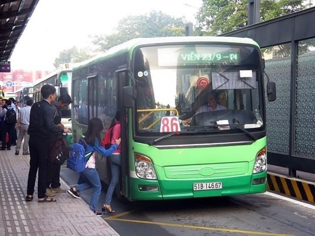 Smart bus cards piloted in HCM City hinh anh 1