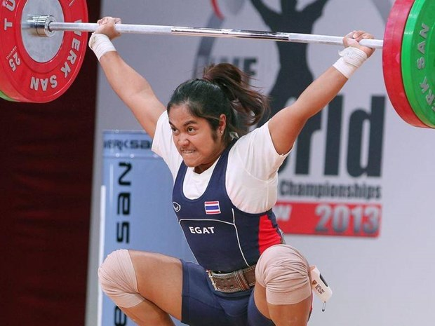 Thailand bans weightlifters from Tokyo Olympics over doping hinh anh 1