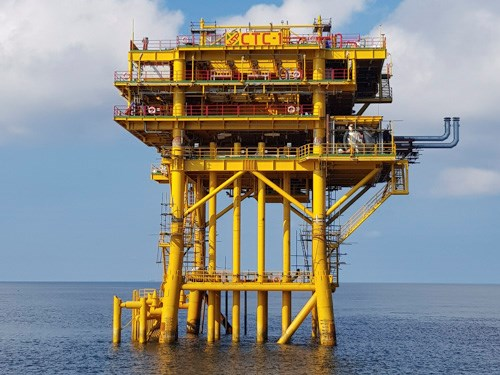 Vietnam-Russia joint venture welcomes first oil flow from Ca Tam field hinh anh 1
