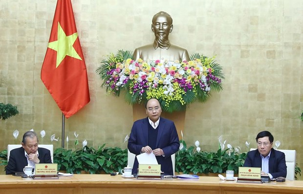 Prime Minister chairs government meeting on legislation hinh anh 1
