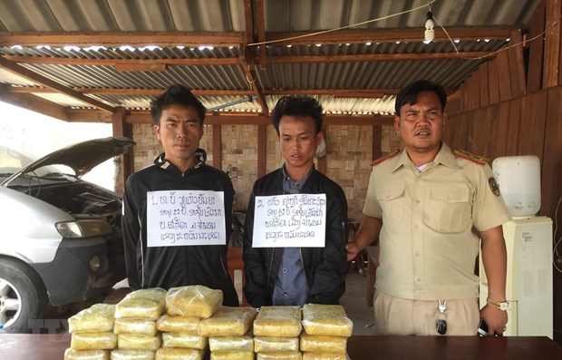 Quang Tri border guards bust trans-national drug trafficking ring hinh anh 1