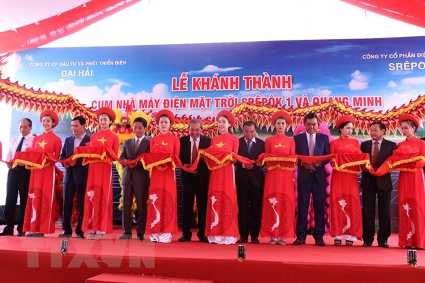 Solar power complex inaugurated in Dak Lak province hinh anh 1