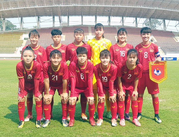 Vietnam advance to AFC U16 women's finals for first time hinh anh 1