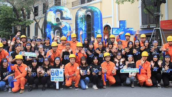 Earth Hour campaign kicks off in Hanoi hinh anh 1