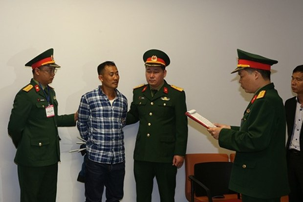 Defence Ministry arrests man in int'l wanted list hinh anh 1