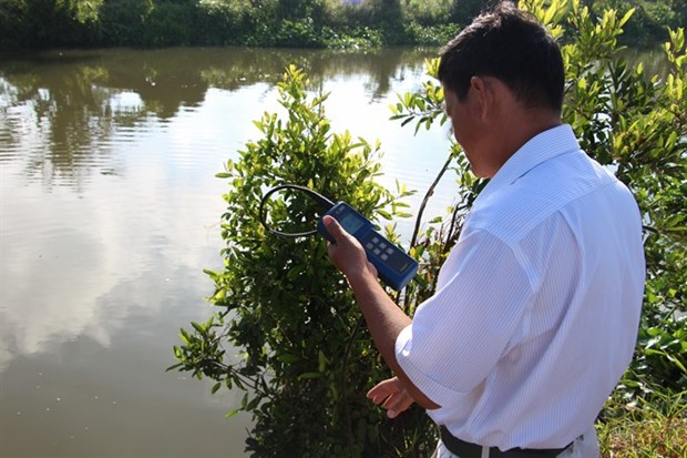 Saltwater intrusion hits Mekong Delta hinh anh 1