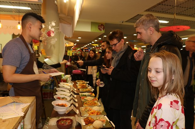 Vietnam street food festival in Moscow hinh anh 1
