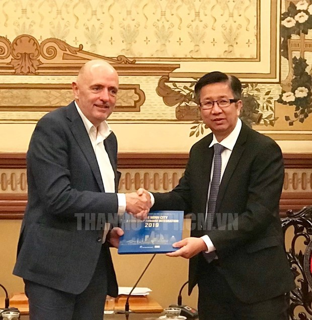 HCM City keen to increase exchanges with Belgian localities hinh anh 1