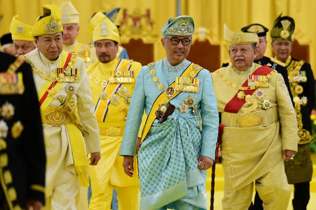 Malaysian king calls for national unity hinh anh 1