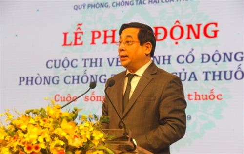 Painting contest aims to promote non-smoking life hinh anh 1