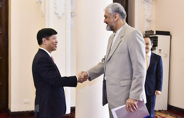 Vietnam, Iran foster cooperation hinh anh 1