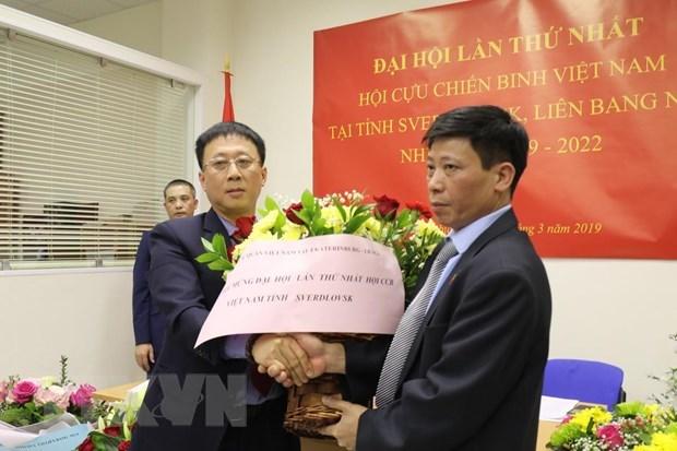Association of Vietnamese war veterans established in Russia's Sverdlovsk hinh anh 1