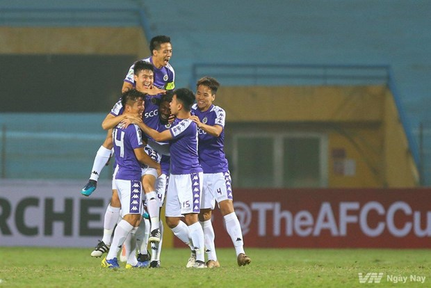 Hanoi, Binh Duong to play Singaporean, Philippine teams in AFC Cup hinh anh 1