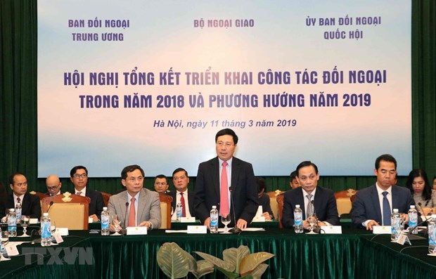Vietnam to continue improving external work in 2019 hinh anh 1