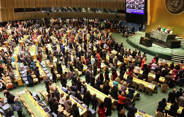 Vietnam attends UN's largest meeting on gender equality hinh anh 1