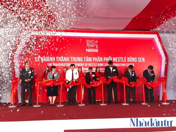 Nestle Vietnam inaugurates new distribution centre in Hung Yen province hinh anh 1
