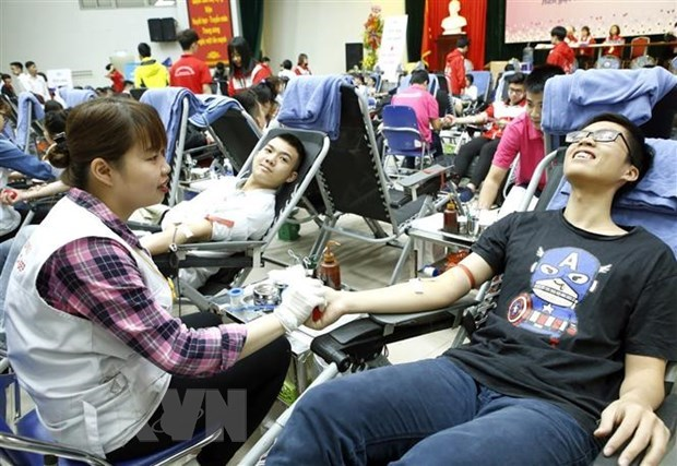 Only 1.68 percent of population donate blood hinh anh 1