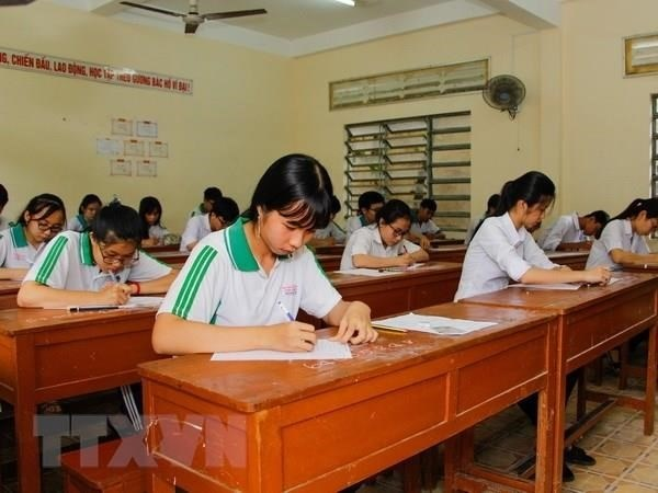 Police recommend charges in exam result manipulation case hinh anh 1