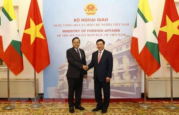Vietnam-Myanmar relations increasingly substantive: officials hinh anh 1