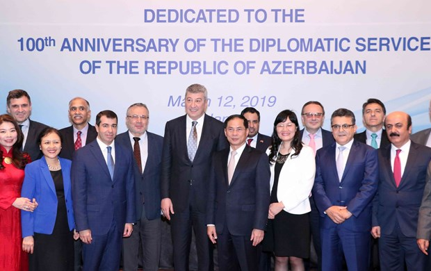 Vietnam, Azerbaijan look to increase diplomatic coordination hinh anh 1