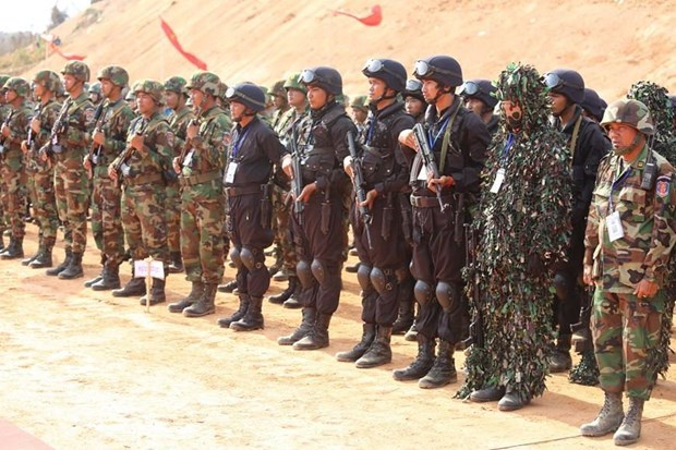 Cambodia, China hold joint military exercise hinh anh 1