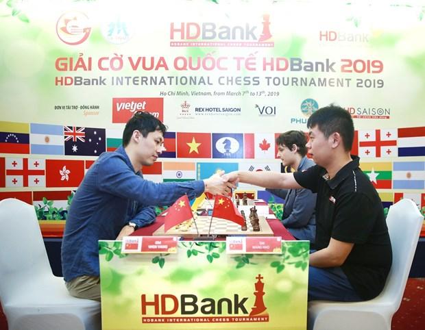 Chinese grandmaster wins HDBank int'l chess tourney hinh anh 1