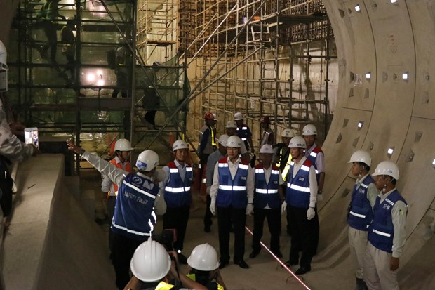 Work accelerated for HCM City's first metro line hinh anh 1