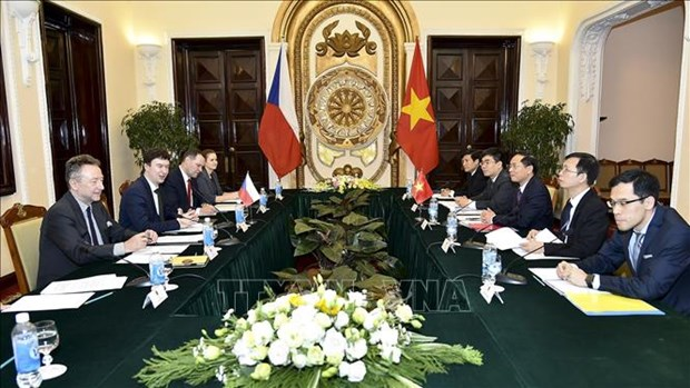 Vietnam, Czech Republic hold political consultation hinh anh 1