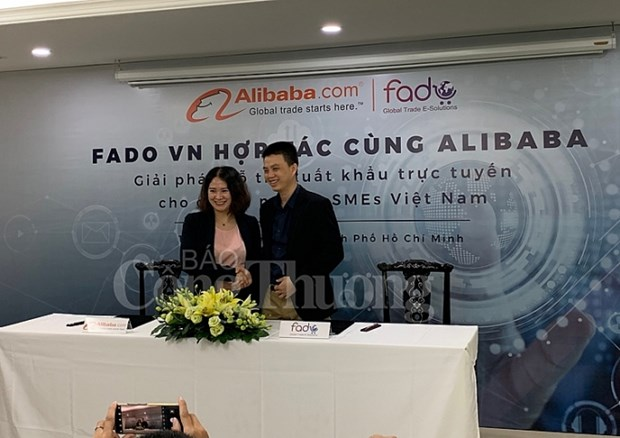 Fado Vietnam inks deal with Alibaba to support domestic firms hinh anh 1