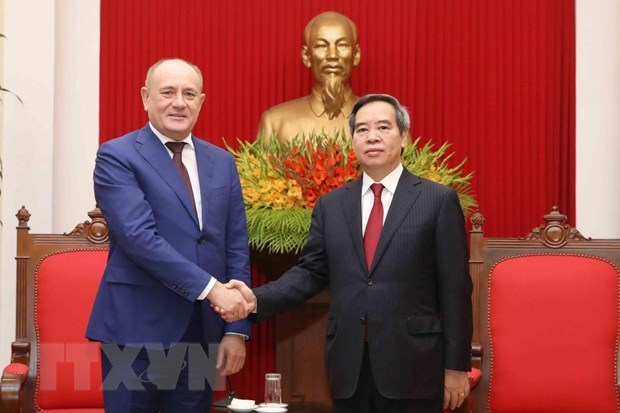 Gazprom hailed for contributions to Vietnam-Russia relations hinh anh 1