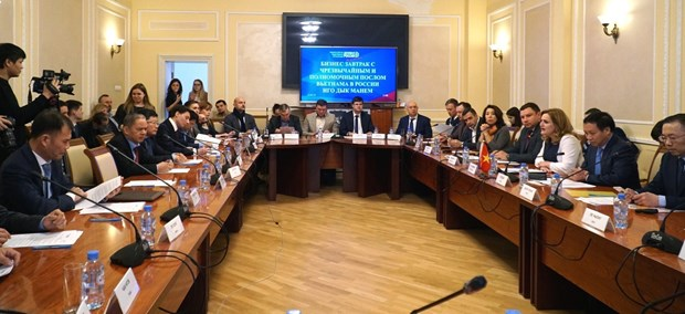 Moscow meeting connects Vietnamese, Russian SMEs hinh anh 1