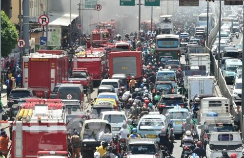 Indonesia moves to reduce traffic jam in Jakarta hinh anh 1