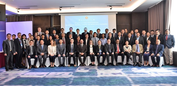 Workshop boosts regional maritime law enforcement cooperation hinh anh 1