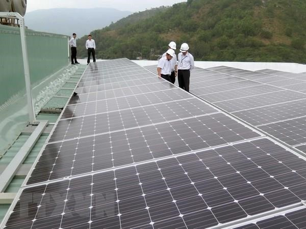 Quang Tri to put first solar power plant into operation hinh anh 1