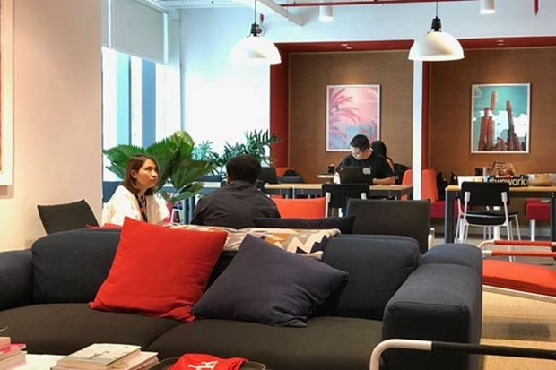 WeWork opens first co-working space in Vietnam hinh anh 1