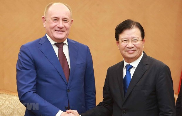 Deputy PM hails Gazprom's investment expansion plans in Vietnam hinh anh 1