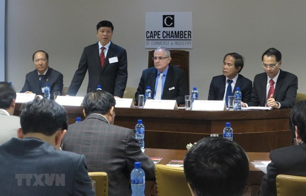 Vietnam – South Africa business dialogue held in South Africa hinh anh 1