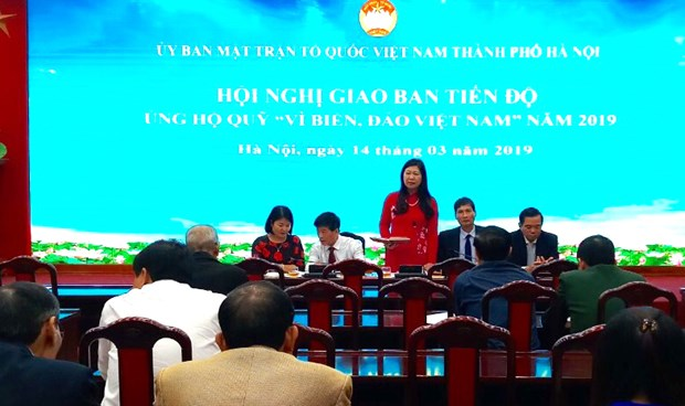 Hanoi raises nearly 1.3 million USD for Vietnam's sea, islands hinh anh 1
