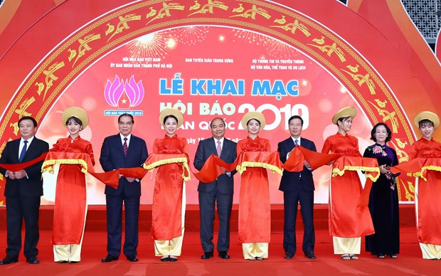 National Press Festival 2019 opens in Hanoi hinh anh 1